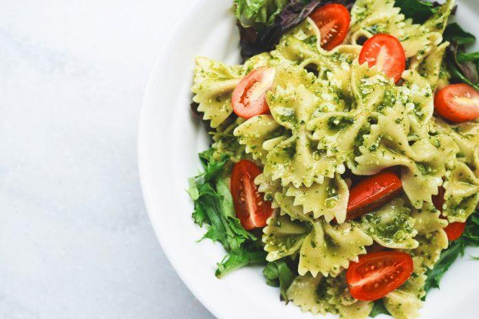 salade au pesto